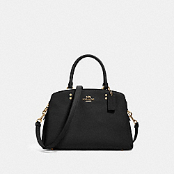 LILLIE CARRYALL - IM/BLACK - COACH 91493