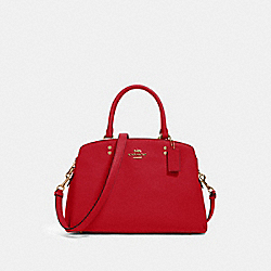 LILLIE CARRYALL - IM/TRUE RED - COACH 91493
