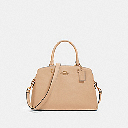 LILLIE CARRYALL - IM/TAUPE - COACH 91493