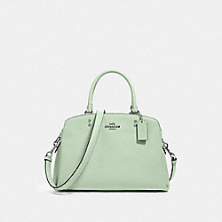 LILLIE CARRYALL - SV/PALE GREEN - COACH 91493