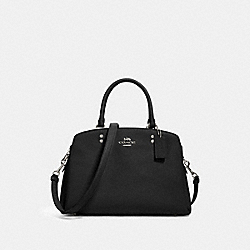 LILLIE CARRYALL - SV/BLACK - COACH 91493