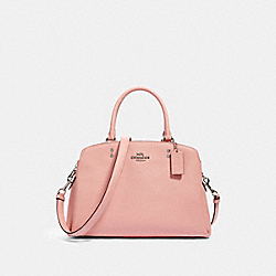 LILLIE CARRYALL - SV/LIGHT BLUSH - COACH 91493