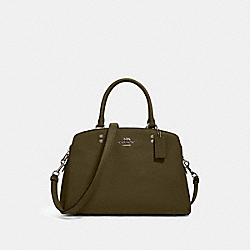 LILLIE CARRYALL - SV/CARGO GREEN - COACH 91493