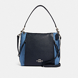 MARLON HOBO - SV/DENIM MULTI - COACH 91528