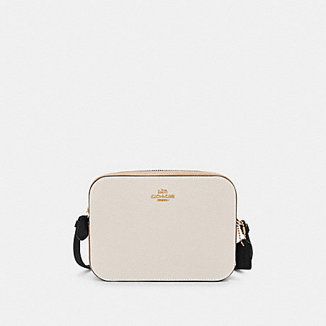 COACH MINI CAMERA BAG IN COLORBLOCK - IM/CHALK MULTI - 91540