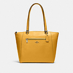 PRAIRIE TOTE - QB/HONEY - COACH 91615