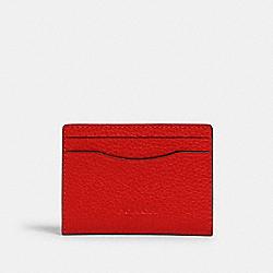 MAGNETIC CARD CASE - QB/MIAMI RED - COACH 91661