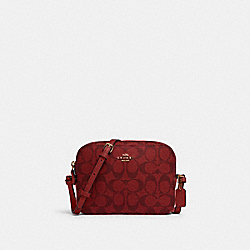 MINI CAMERA BAG IN SIGNATURE CANVAS - IM/1941 RED - COACH 91677