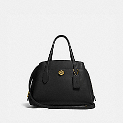 LORA CARRYALL 30 - B4/BLACK - COACH 91740