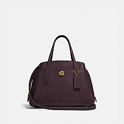 LORA CARRYALL 30 - B4/OXBLOOD - COACH 91740