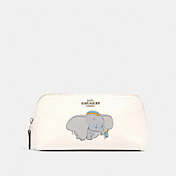 DISNEY X COACH COSMETIC CASE 17 WITH DUMBO - SV/CHALK - COACH 91784