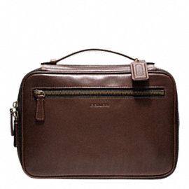 BLEECKER LEATHER TRAVEL KIT