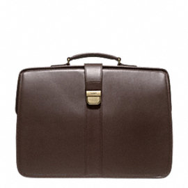 CROSBY LUX LEATHER DIPLOMAT BRIEF