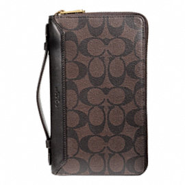 BLEECKER SIGNATURE DOUBLE ZIP TRAVEL ORGANIZER