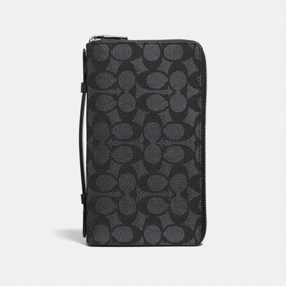 Coach Double Zip Travel Organizer