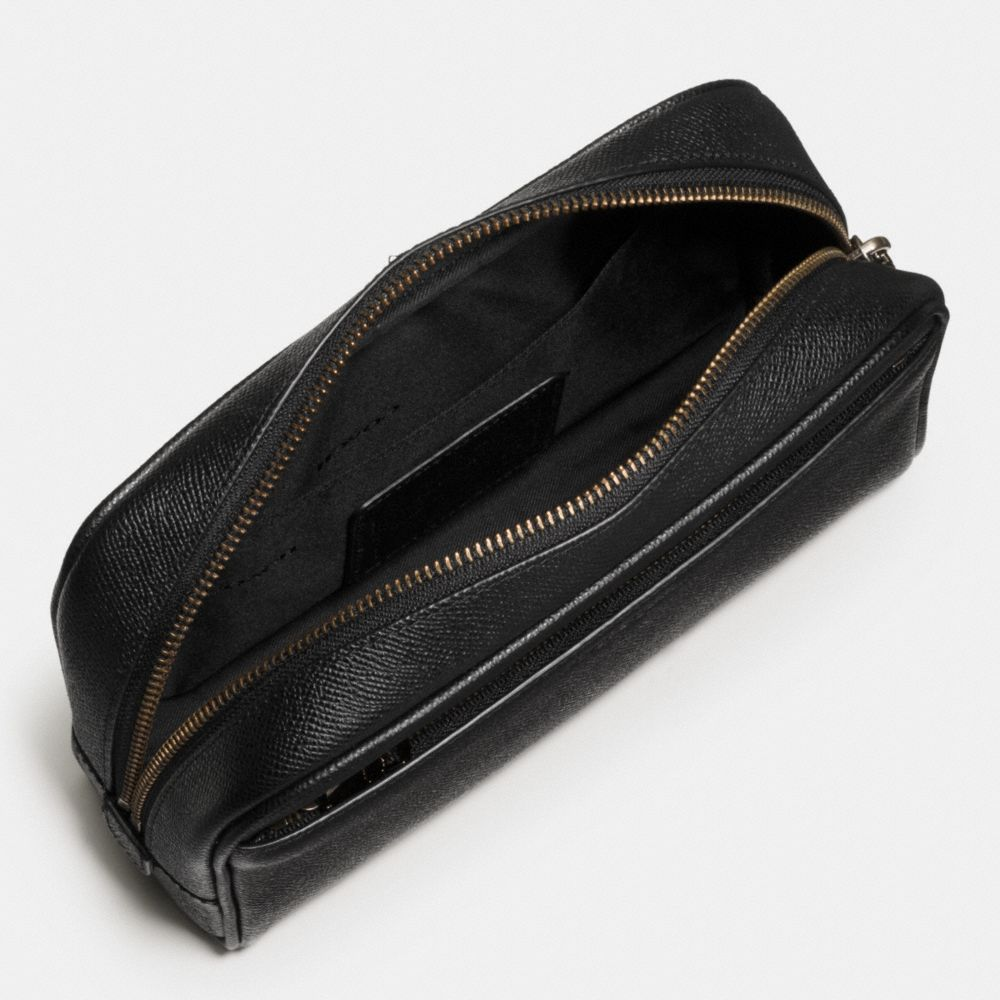 CARRY-ON DOPP KIT IN CROSSGRAIN LEATHER - Alternate View