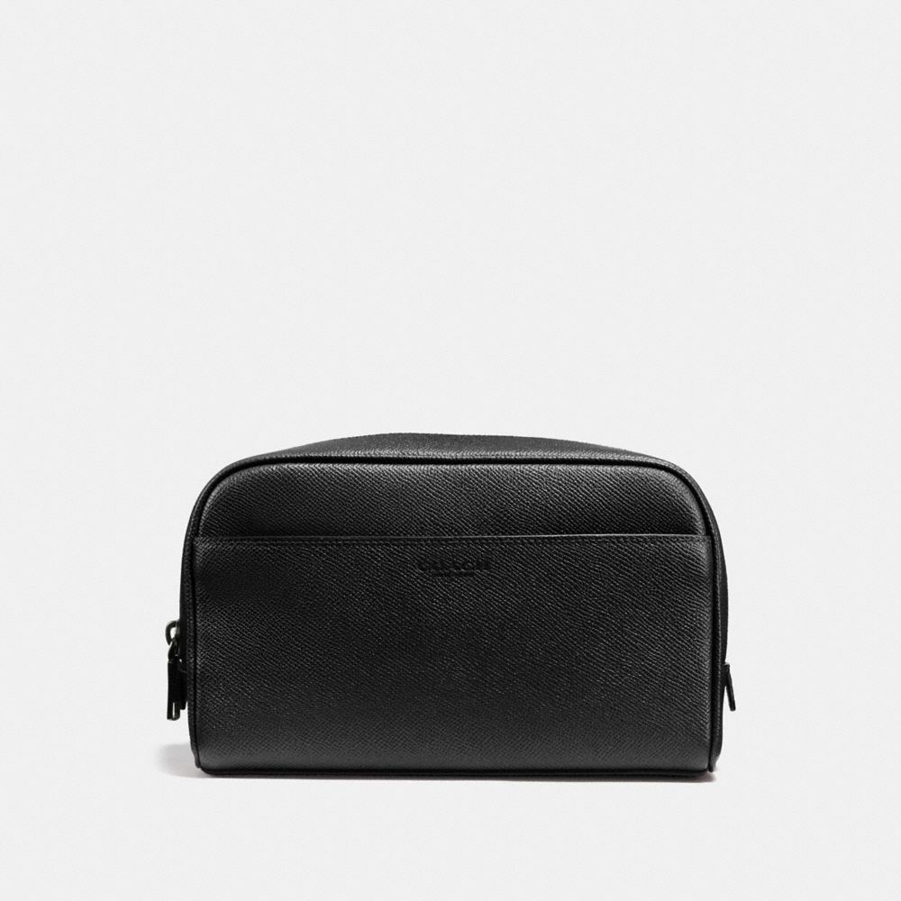 Coach Carry-On Dopp Kit in Crossgrain Leather