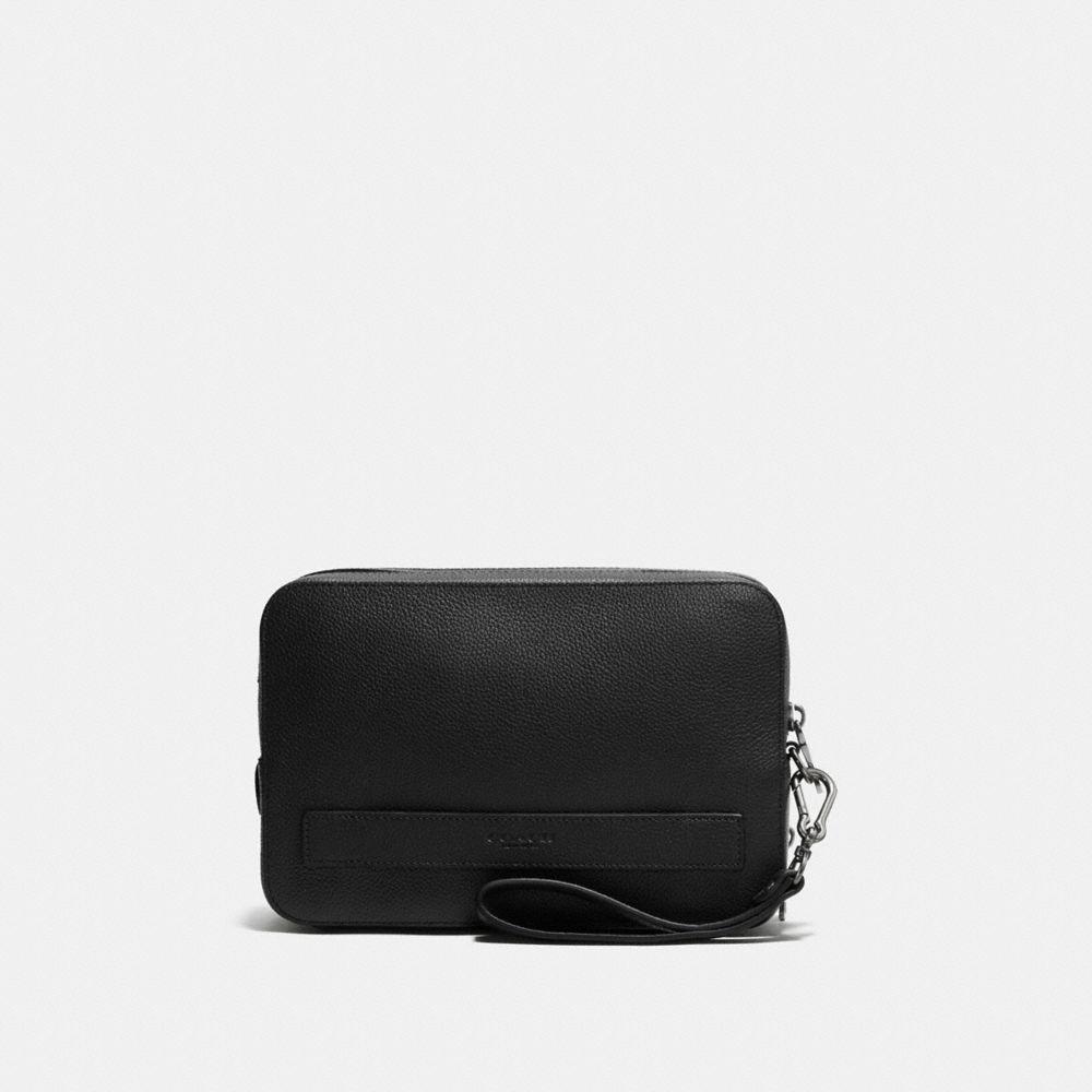 Pouchette in Pebble Leather
