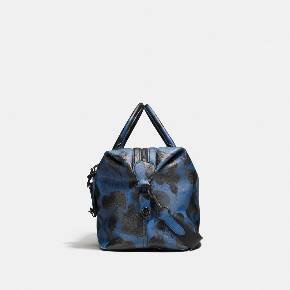 Explorer Duffle in Printed Pebble Leather - Alternate View A1