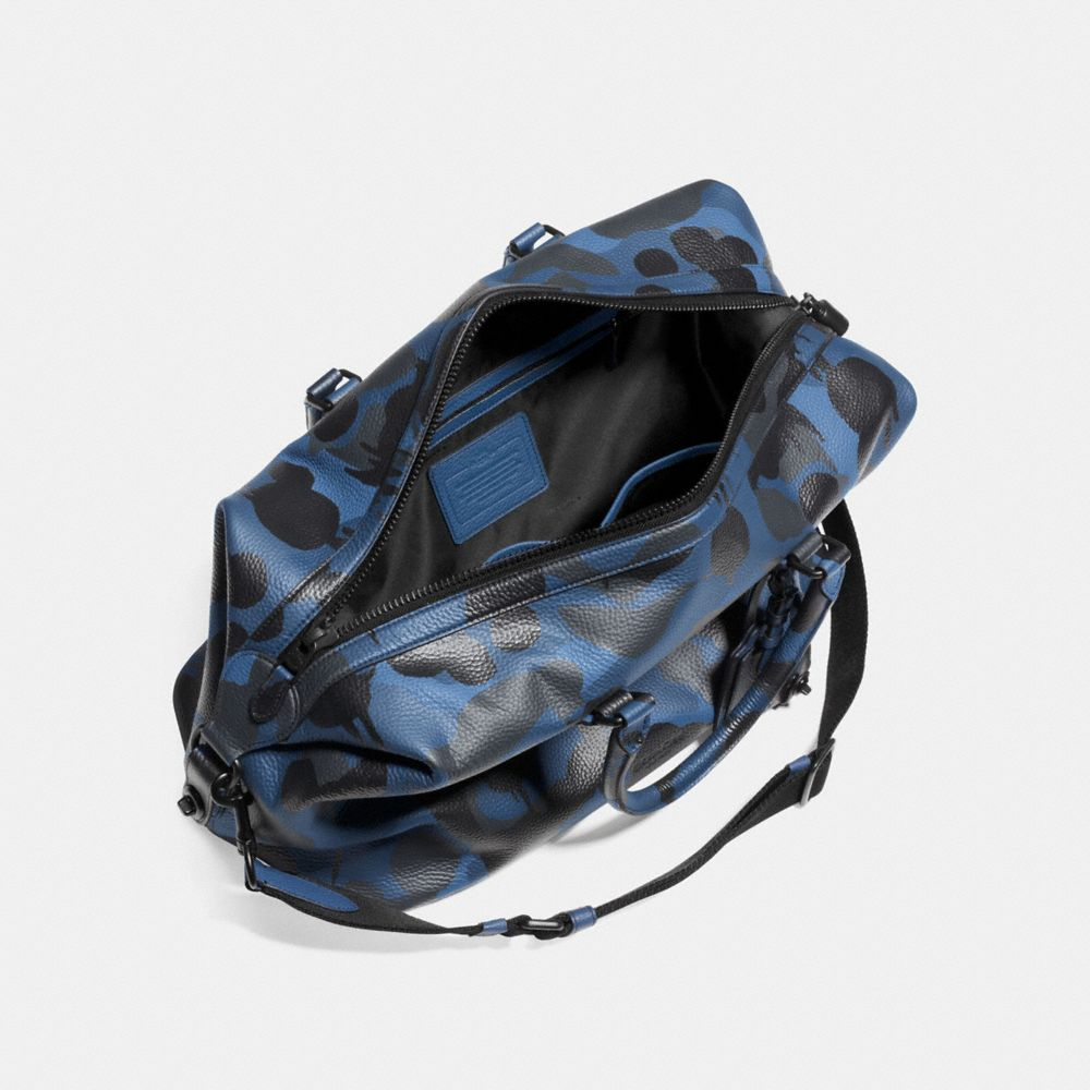 Explorer Duffle in Printed Pebble Leather - Alternate View A3