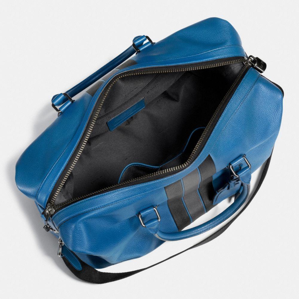 VARSITY STRIPE EXPLORER BAG IN PEBBLE LEATHER - Alternate View