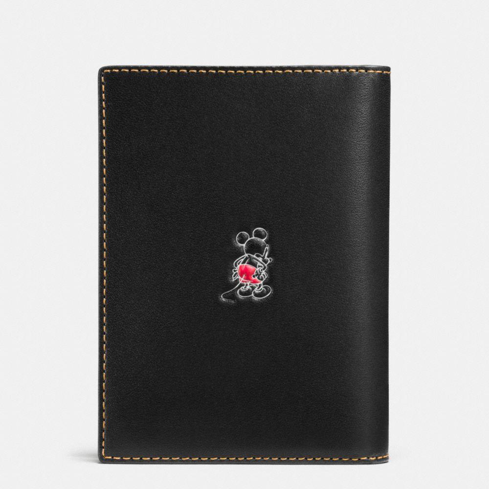 Mickey Passport Case in Glovetanned Leather - Alternate View A1