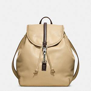 Coach - Studio Legacy Leather Backpack Sv/britishtan