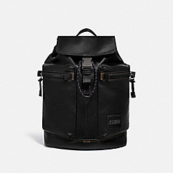 PACER UTILITY BACKPACK WITH COACH PATCH - JI/BLACK - COACH 93849