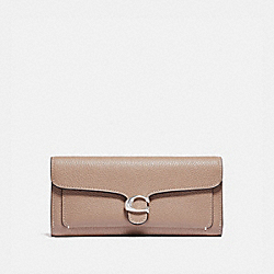TABBY LONG WALLET - LH/TAUPE - COACH 93983
