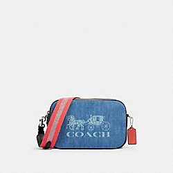 JES CROSSBODY - SV/DENIM - COACH 93986
