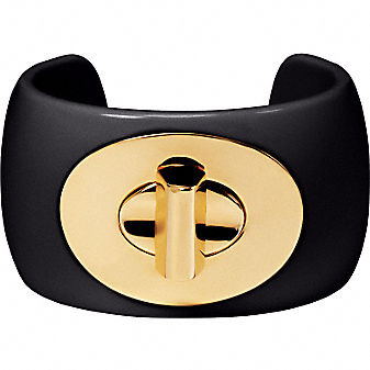 Coach Official Site - PHOEBE 1 1/2 TURNLOCK BANGLE :  bangle womens clothing hinged womens