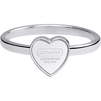 Coach Official Site - MINI HEART RING :  mini ring totes official