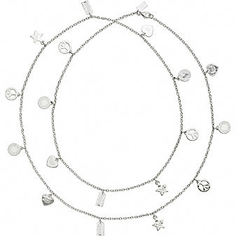 Coach Official Site - MIXED MOTIF NECKLACE :  necklace official jewelry mixed