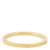 SIGNATURE C METAL BANGLE