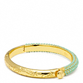 PAVE HINGED BANGLE
