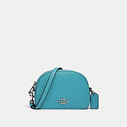 MINI SERENA CROSSBODY - SV/AQUA - COACH 97561