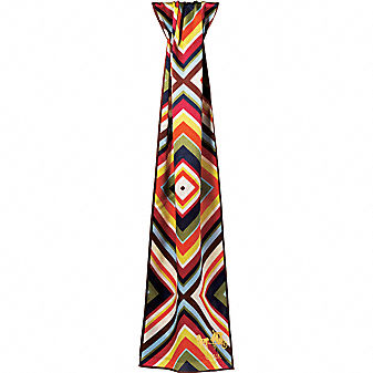 Coach Official Site - ABSTRACT OBLONG SCARF