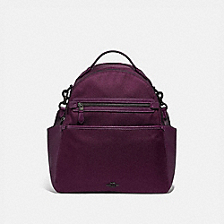 BABY BACKPACK - PEWTER/BOYSENBERRY - COACH 99290