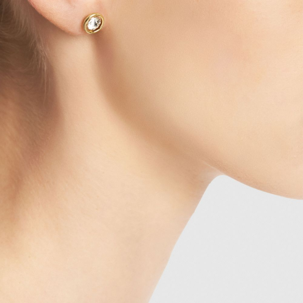 Halo Stud Earrings - Alternate View A1