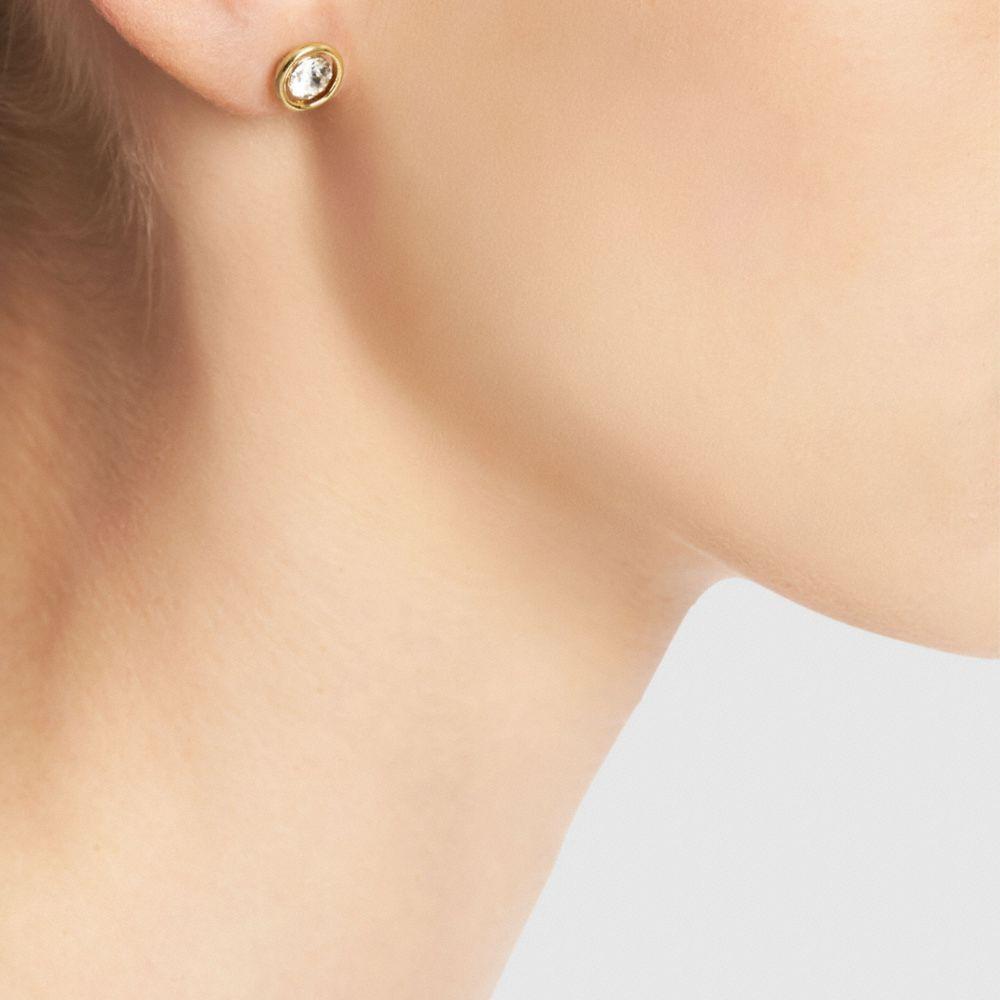 Halo Stud Earrings - Alternate View