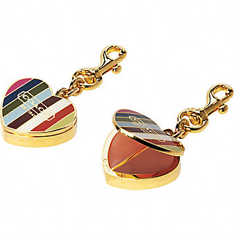 Coach Official Site - COACH LEGACY LIP GLOSS CHARM :  charm bags shoes gloss