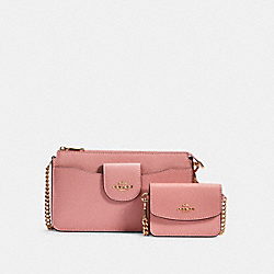 POPPY CROSSBODY - IM/LIGHT BLUSH - COACH C0737
