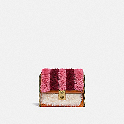 HUTTON BELT BAG WITH PATCHWORK - B4/CHALK MULTI - COACH C0840