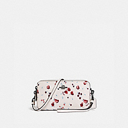 KIRA CROSSBODY WITH TULIP MEADOW PRINT - V5/CHALK - COACH C0857
