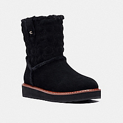 IVY BOOT - BLACK - COACH C1235