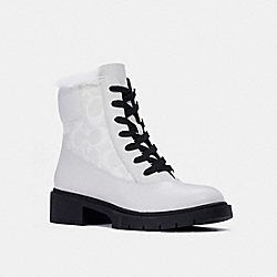 LAYNE BOOT - OPTIC WHITE - COACH C1263