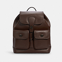 HERITAGE BACKPACK - QB/DARK TEAK - COACH C1265