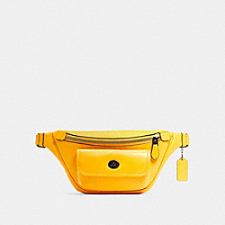 HERITAGE BELT BAG - QB/OCHRE - COACH C1277