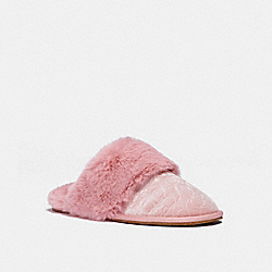 ZURI SLIPPER - PINK - COACH C1344