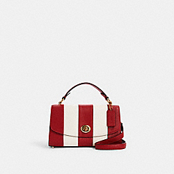 TILLY SATCHEL 23 - IM/1941 RED/CHALK - COACH C1435